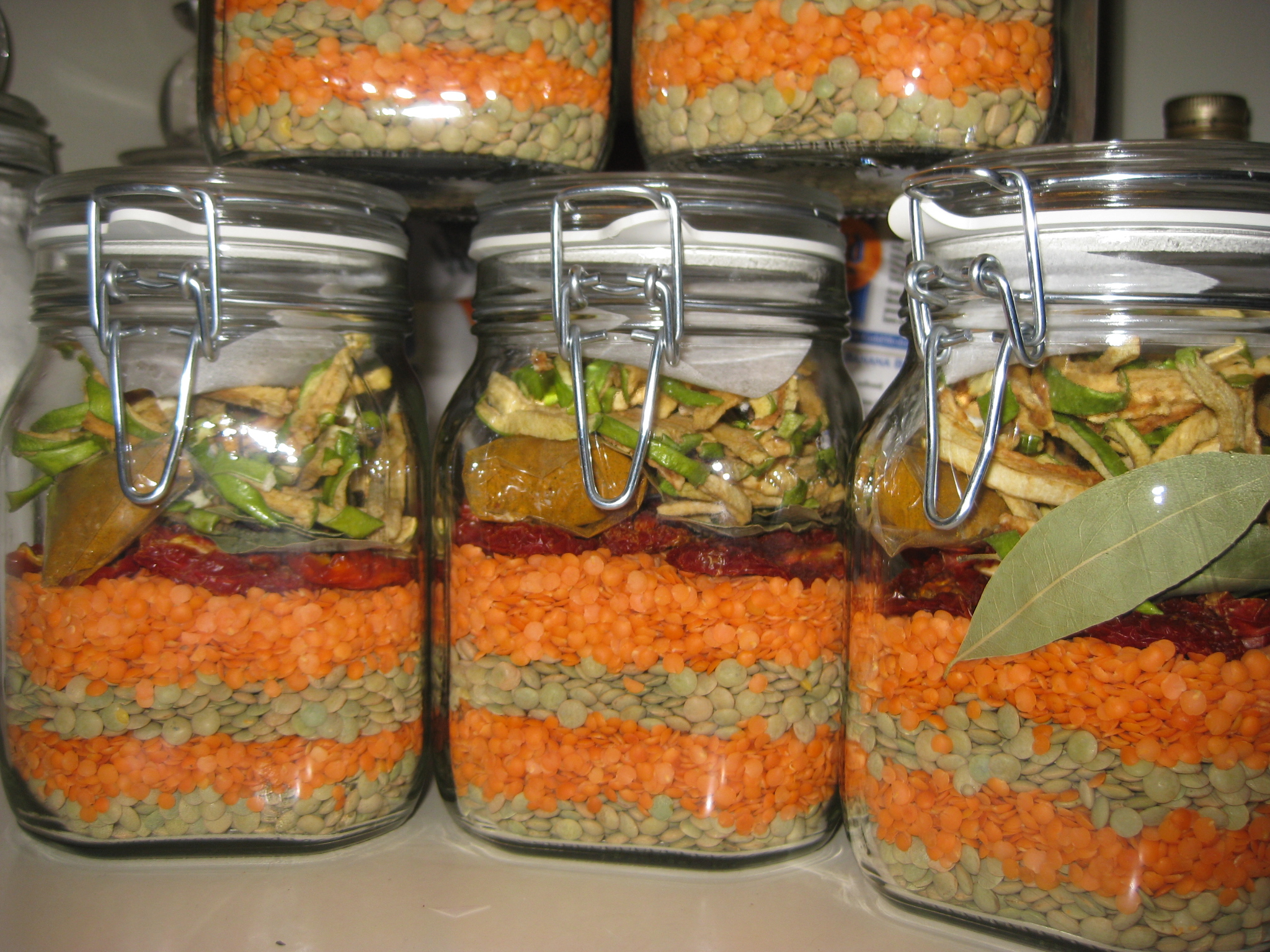 gifts in a jar soup recipes