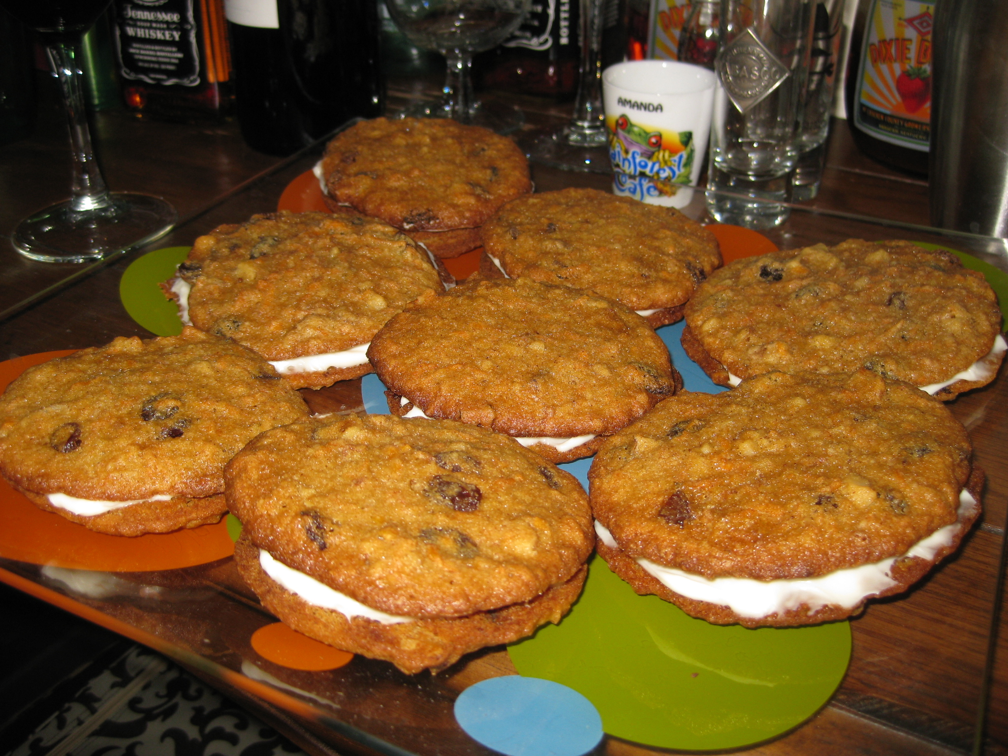 Inside-Out Carrot Cake Cookies   Muffin Bites