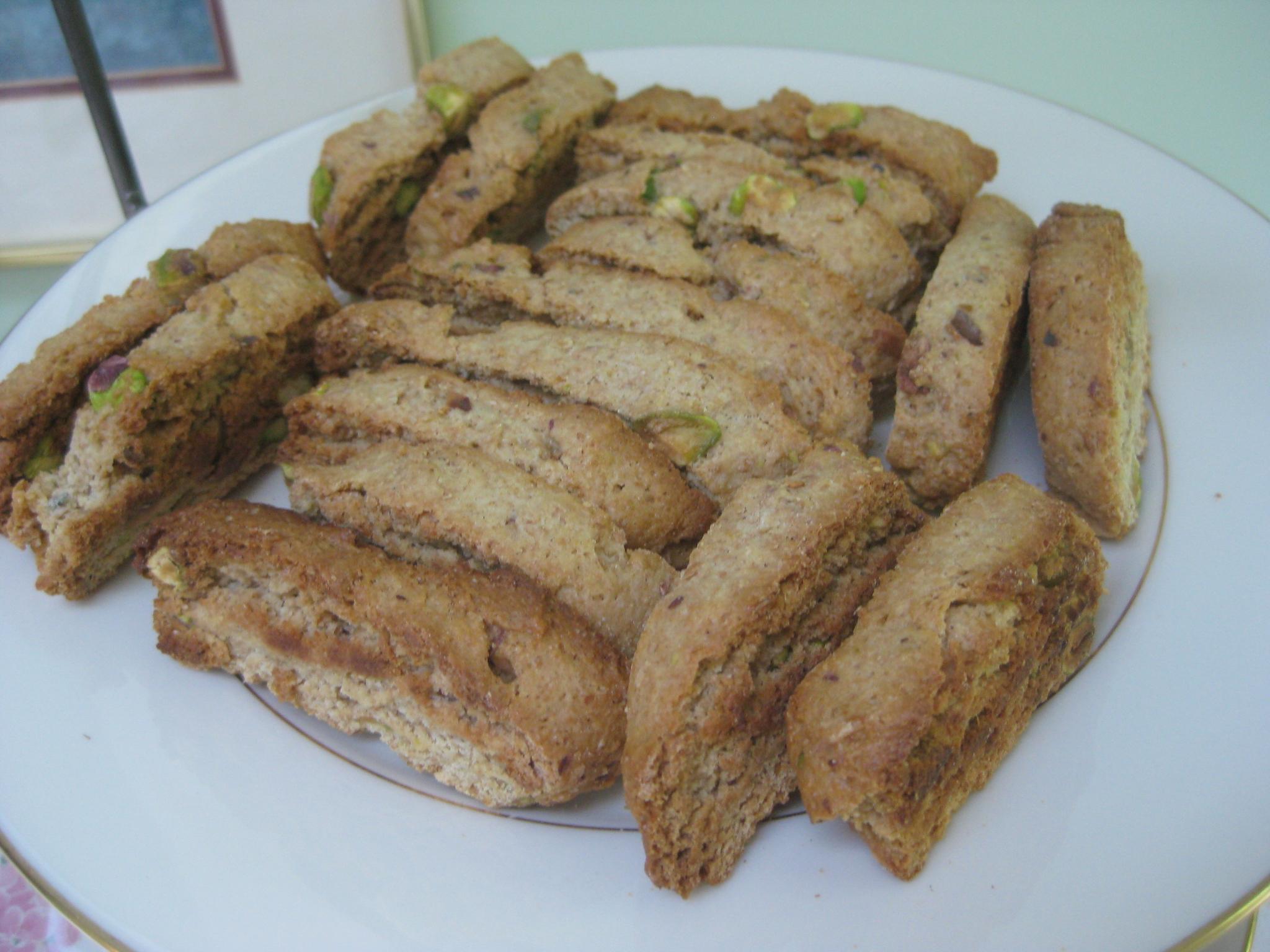 Pistachio-Raisin Biscotti Recipes — Dishmaps