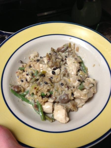 20130205 Chicken Rice Bake