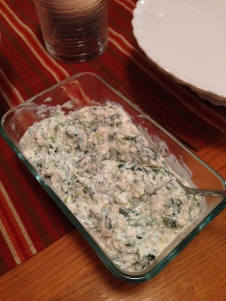 20130315 Spinach Dip
