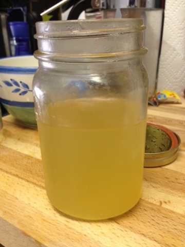 20130505 Lemon Ginger Syrup