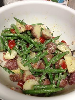 20130609 Green Bean Potato Salad