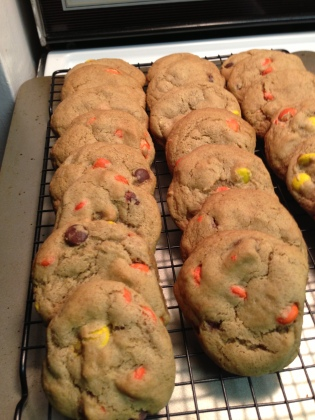 20130609 Reeses Pieces Cookies