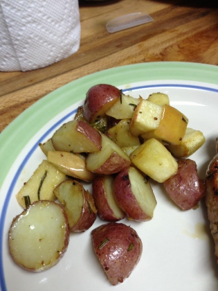 20130630 Apple Roasted Potatoes 01