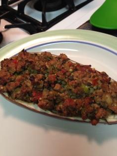 20130921 Stuffed Eggplant 03