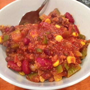 20131015 Veggie Chili