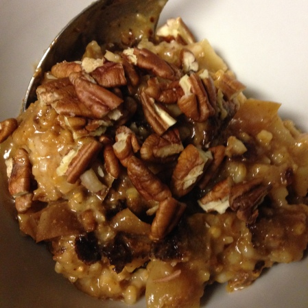 20140915 Slow Apple Oatmeal