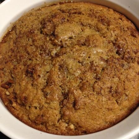 20140928 Maple Pecan Cake