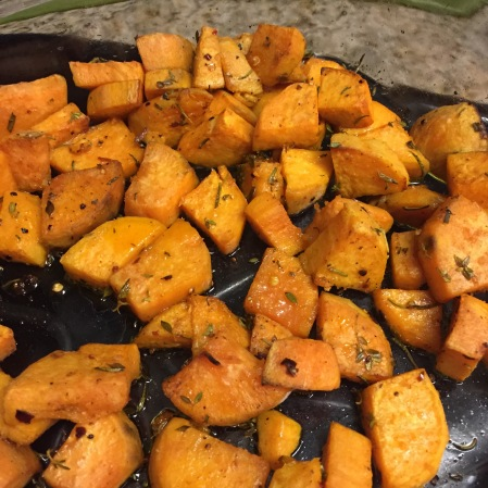 20150726 Roast Sweet Potato