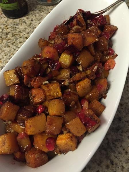 20151115 Squash Cranberry Roast
