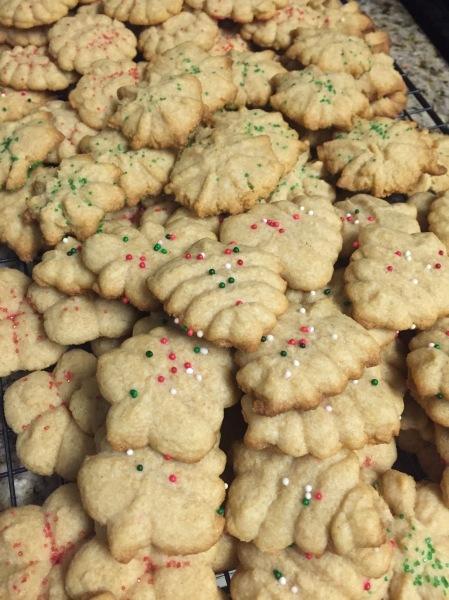 20151219 Spritz Cookies