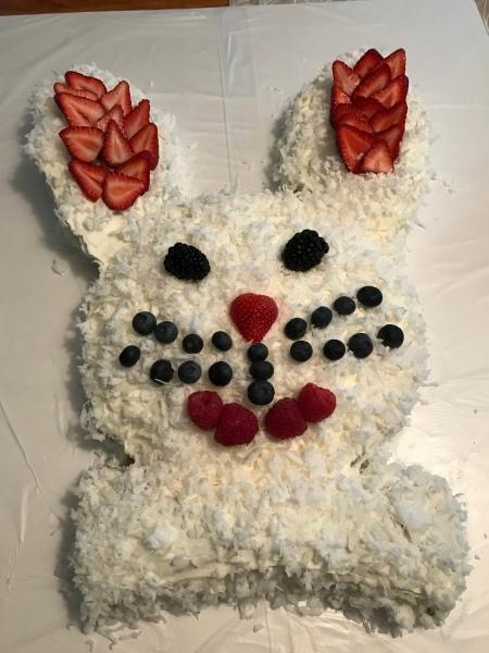 20180401 Bunny Cake