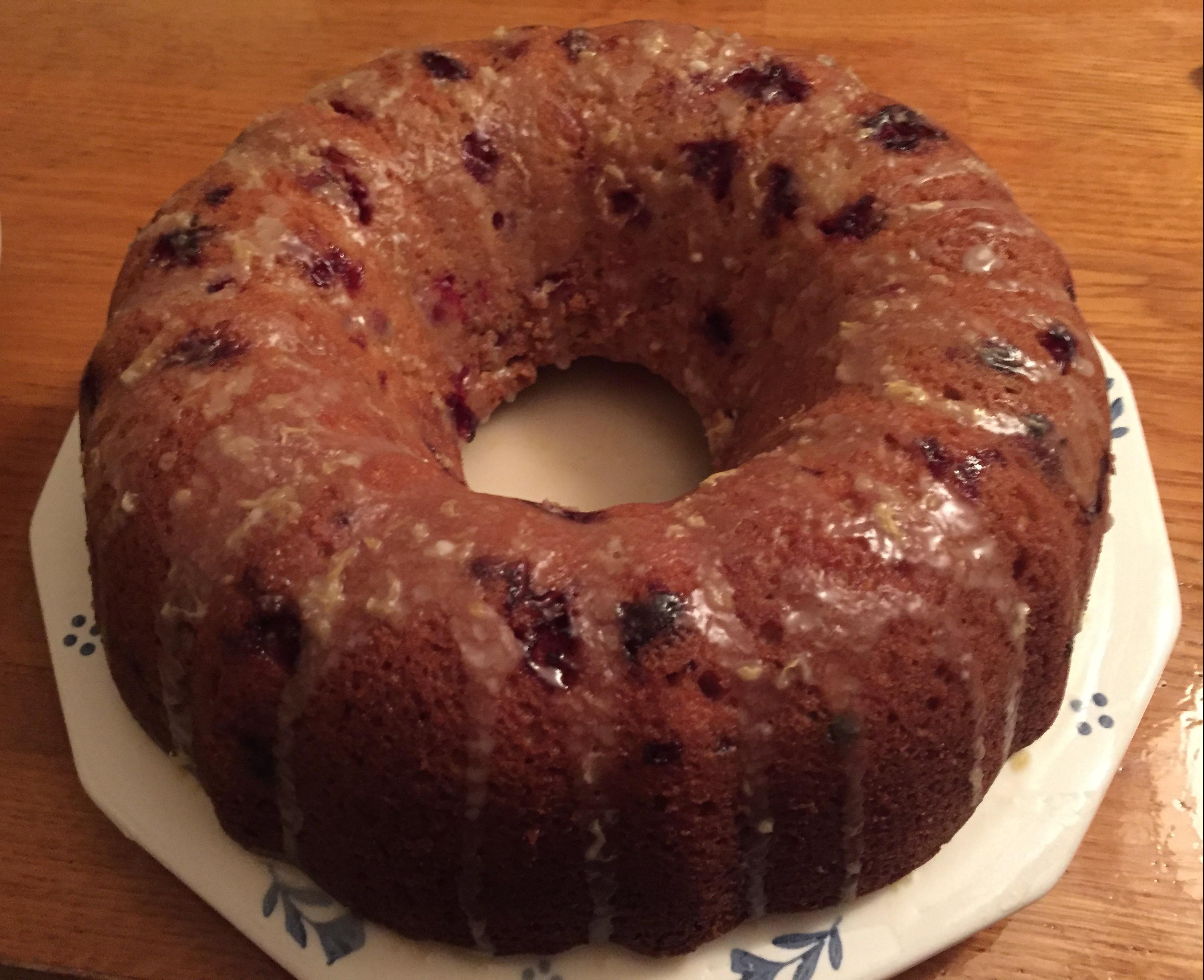 20181125 Cranberry Cake 03
