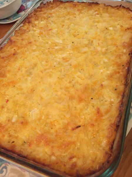 20181225 Hashbrown Casserole
