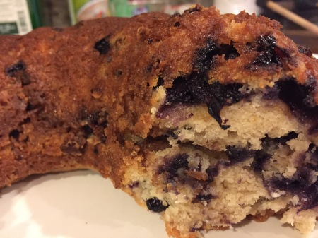 20190728 Sour Cream Blueberry Coffee Cake